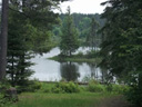 Picture of Hinsburger Lake as seen from Spirit Point