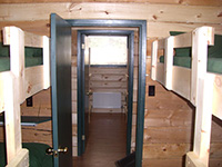 Picture of a room in the bunk house at Spirit Point