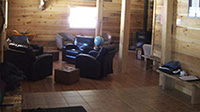 Picture of sitting room in main lodge at Spirit Point