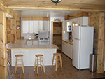 Picture of kitchen in the main lodge at Spirit Point